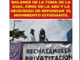 GUATEMALA.- Balance de la toma de la USAC, crisis de la AEU y necesidad de refundar el movimiento estudiantil